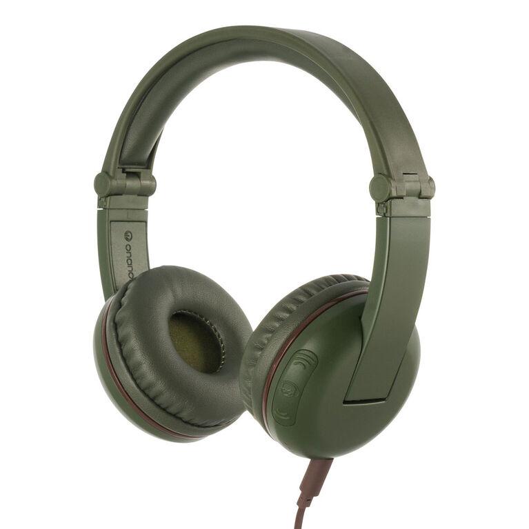 BuddyPhones Play Wireless Headphones, Amazon Green