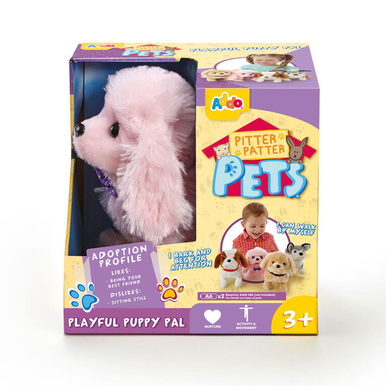 Pitter Patter Pets Playful Puppy Pal Pink Poodle