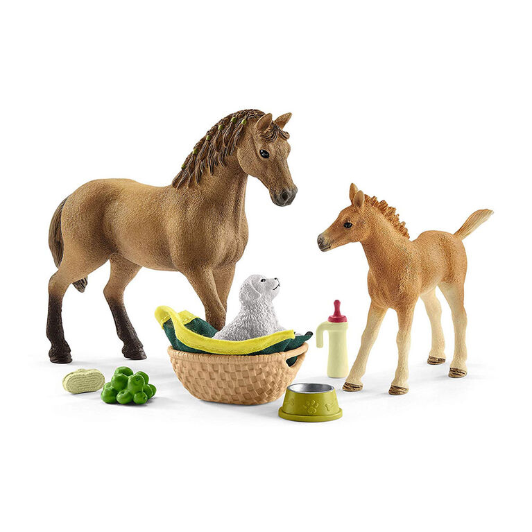 Schleich Horse Club - Sarah's Baby Animal Care
