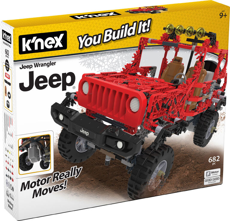 K'Nex Jeep Wrangler Building Set