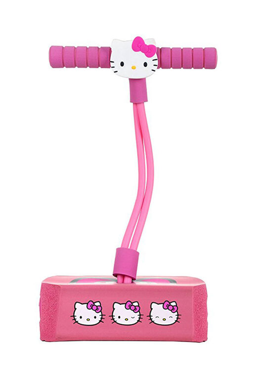 Flybar Mon Premier bâton de pogo en mousse pour les Enfants de 3 Ans et Plus (Hello Kitty)