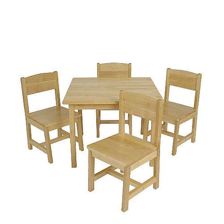KidKraft Farmhouse Table & 4 Chair Set