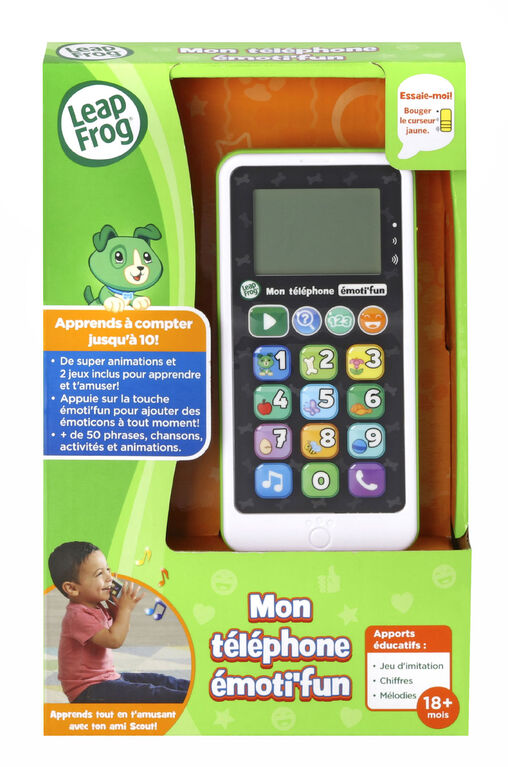 LeapFrog Chat & Count Emoji Phone - Green - French Edition
