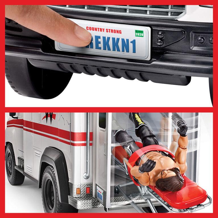 WWE Wrekkin' Slambulance Vehicle - R Exclusive
