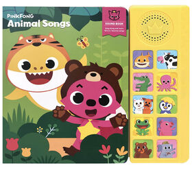 Pinkfong Animal Songs Sound Book - English Edition