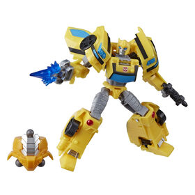 Transformers Cyberverse Deluxe Class Bumblebee Action Figure