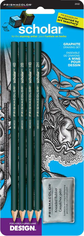 Scholar 2502 Drawing Pencil 4 Pack