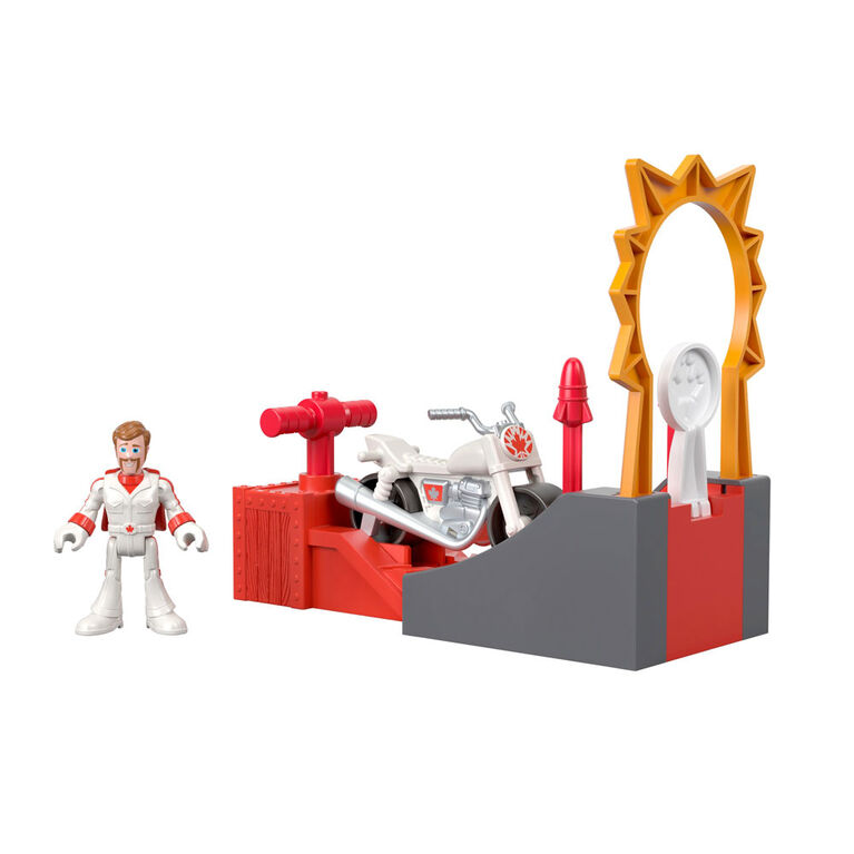 Fisher-Price Imaginext Figure Featuring Disney/Pixar Toy Story Duke Caboom Stunt Set