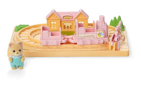 Calico Critters-Baby Choo Choo Train