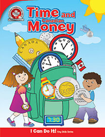 Canadian Time and Money Workbook