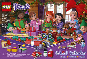 LEGO Friends Le calendrier de l'Avent LEGO Friends 41420