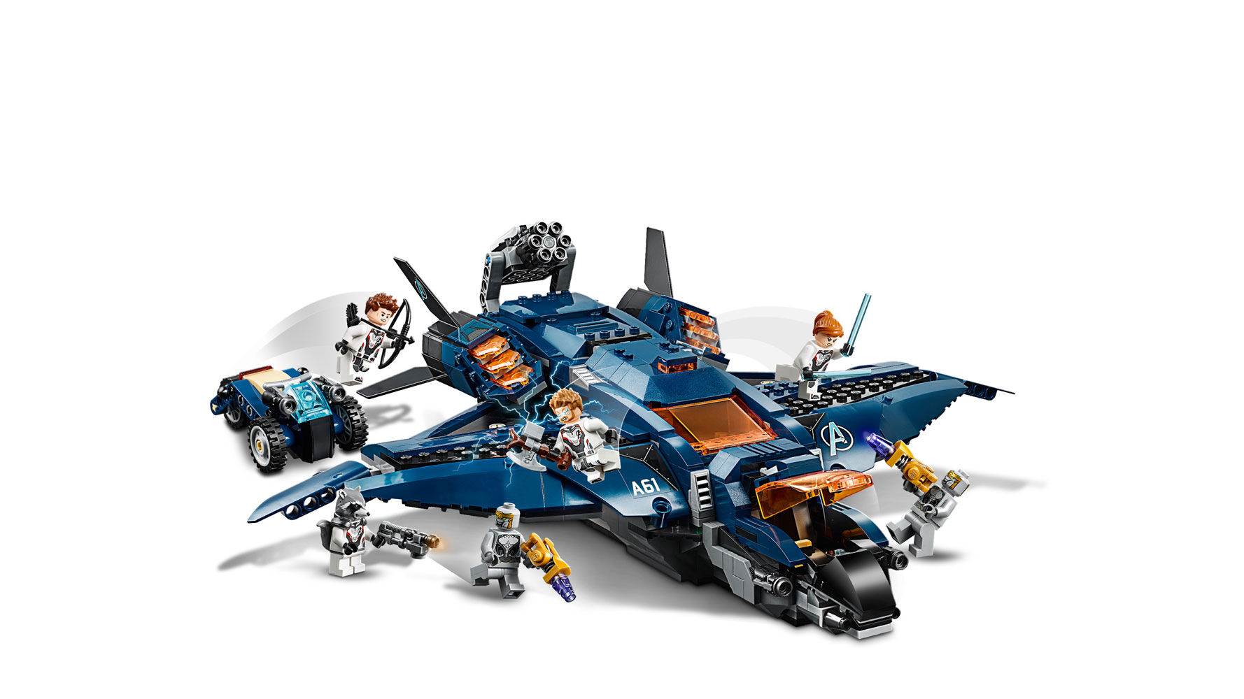 Lego Avengers Endgame 76126 Ultimate Quinjet No Minifigures//Box Never Assembled