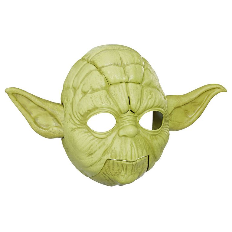Star Wars The Empire Strikes Back Yoda Electronic Mask - French Edition