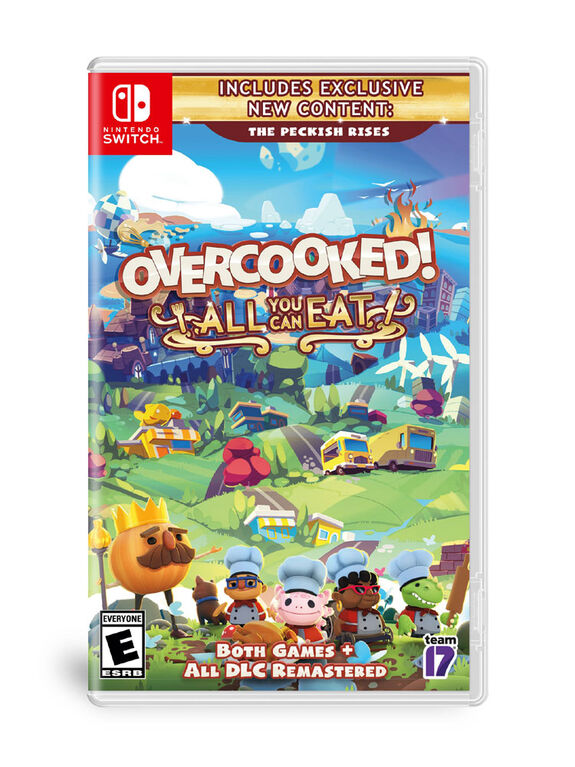 Nintendo Switch Overcooked All You Can Eat