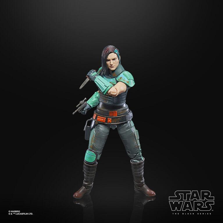 Star Wars The Black Series, figurine articulée Cara Dune de 15 cm - Notre exclusivité