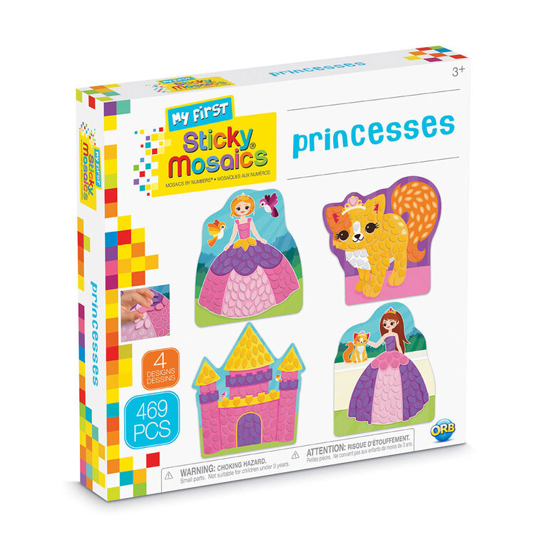 My First Sticky Mosaics Princesses - R Exclusive