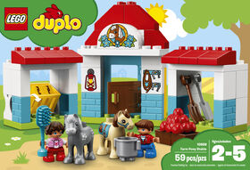 LEGO DUPLO Town Farm Pony Stable 10868