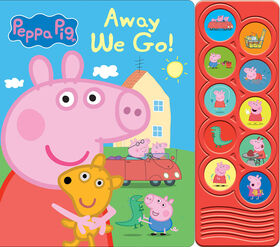 Listen And Learn Board Book Peppa Pig - English Edition