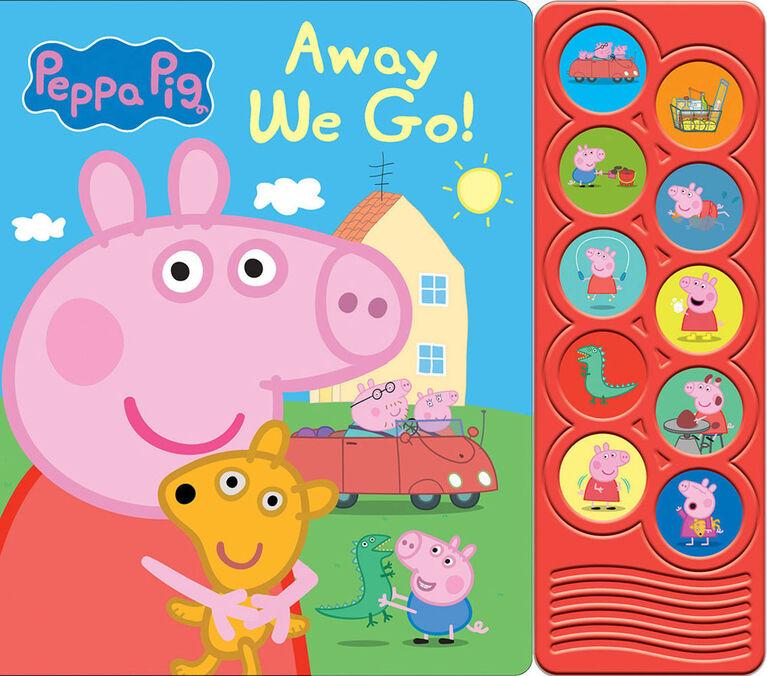 Livre Cartonné Peppa Pig Écouter Et Apprendre - Édition anglaise
