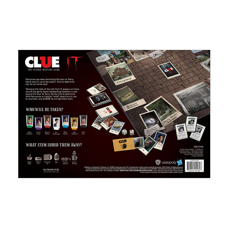 CLUE: IT Board Game - English Edition