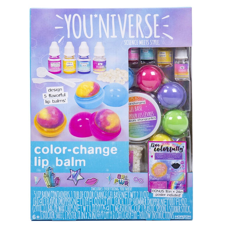 You'Niverse Color Change Lip Balm - English Edition