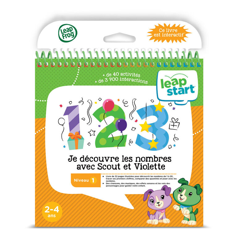 LeapFrog® LeapStart® Scout & Friends Math with Problem Solving - Activity Book - French Edition