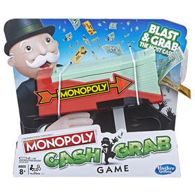 Hasbro Gaming - Monopoly Cash Grab Game