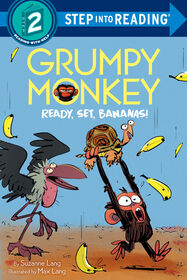 Grumpy Monkey Ready, Set, Bananas! - Édition anglaise