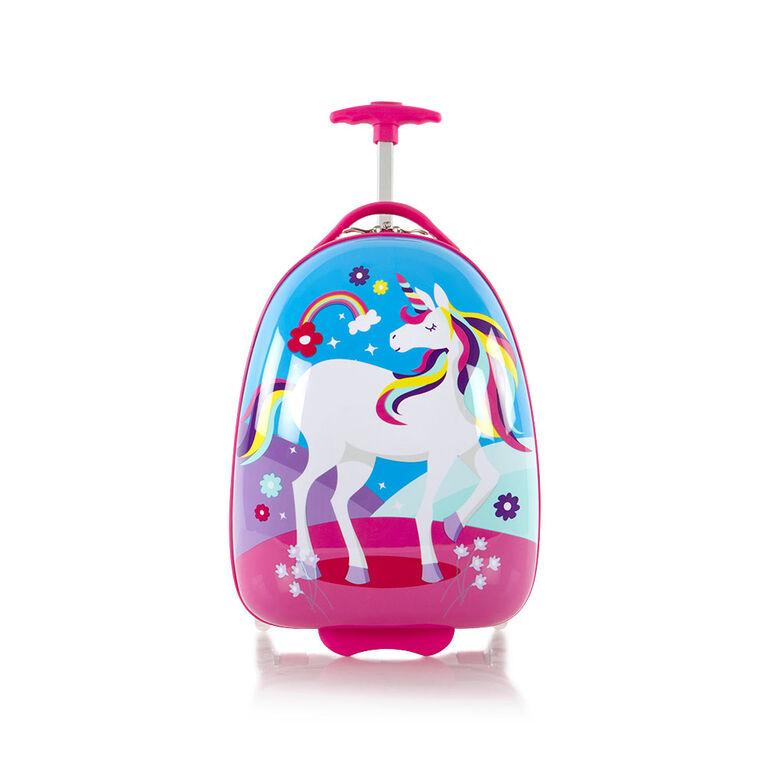 Bagages en forme d'oeuf pour enfants Heys - Licorne