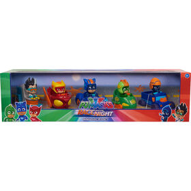 PJ Masks Race Into the Night  Mini Vehicles Set