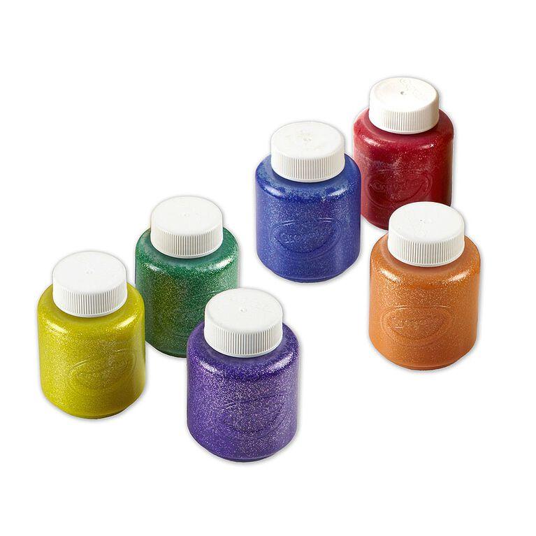 Crayola - Peinture pour enfants lavable pailletées