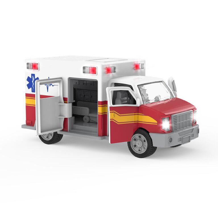 Driven, Ambulance avec lumières et sons
