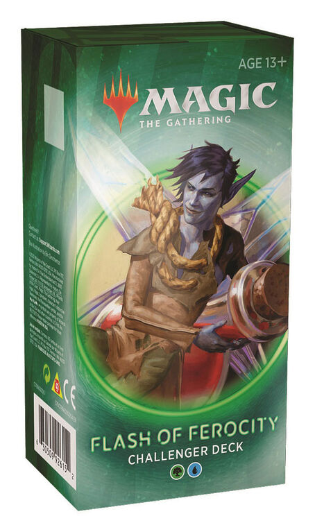 Magic The Gathering Challenger Deck 2020-Flash Of Ferocity