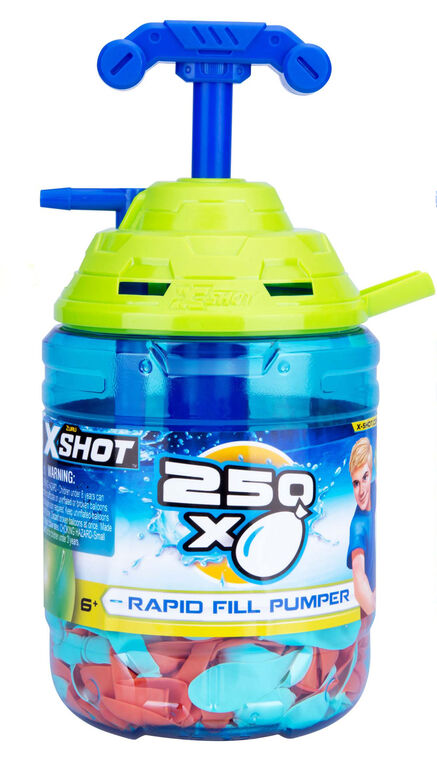Zuru X-Shot Rapid Fill Pumper - Colours may vary