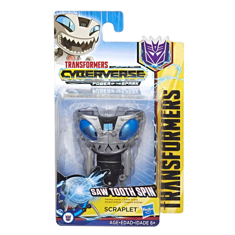 Transformers Cyberverse Action Attackers Scout Class Scraplet