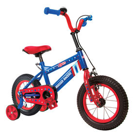 Rugged Racer 16 Inch Kids Bike with Training Wheels- Captain America - English Edition