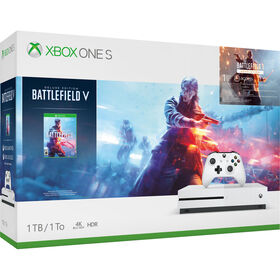 Xbox One - Ensemble Xbox One S de 1 To avec Battlefield V