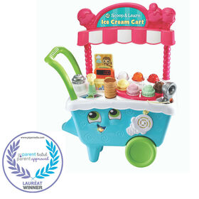 LeapFrog Scoop & Learn Ice Cream Cart - English Edition