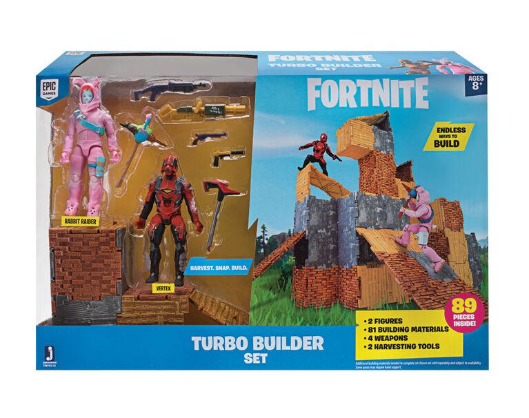 Fornite pack à deux chiffres Turbo Builder Set Rabbit Raider - Vertex S2 - Édition anglaise