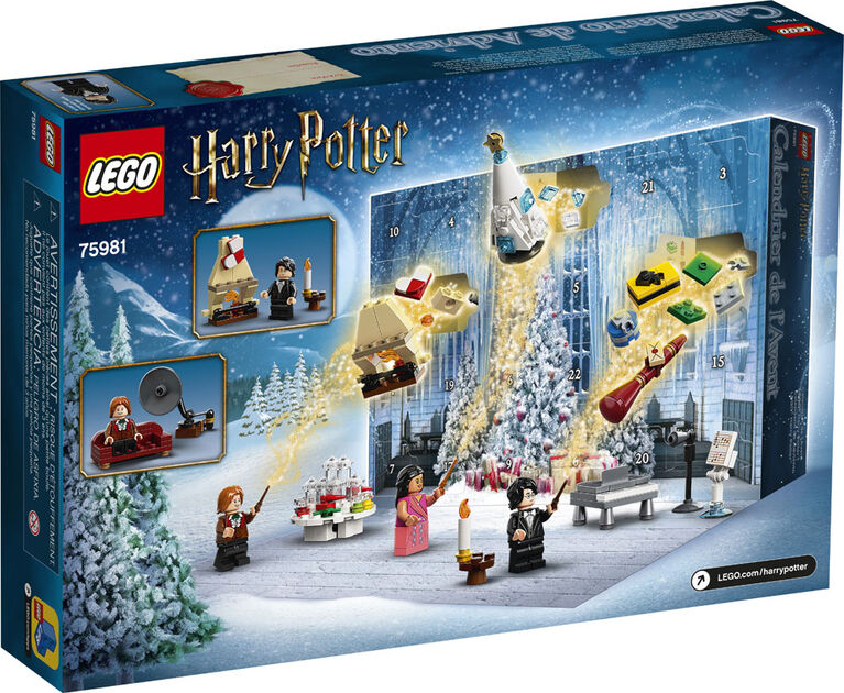 LEGO Harry Potter - Calendrier de l'Avent LEGO Harry Potter 75981