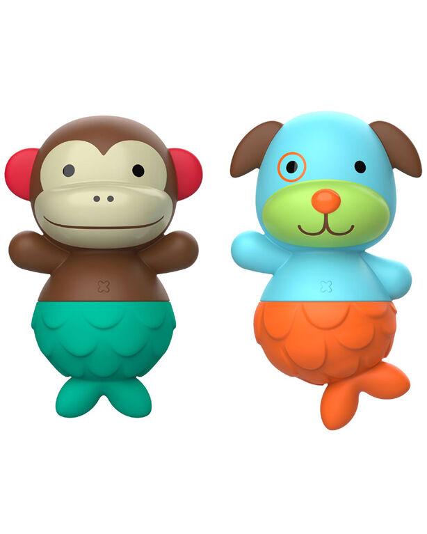 ZOO Mix & Match Flippers - Monkey/Dog