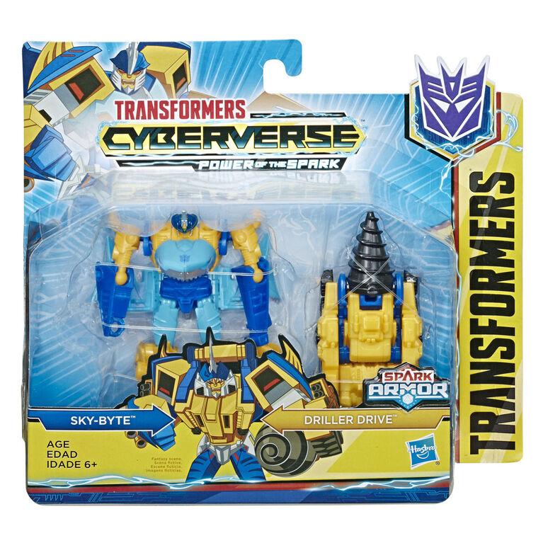 Transformers Cyberverse Spark Armor Sky-Byte Action Figure