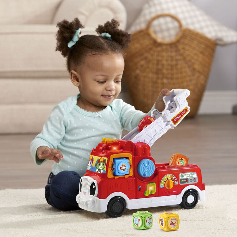 LeapFrog Tumbling Blocks Fire Truck - English Edition - R Exclusive