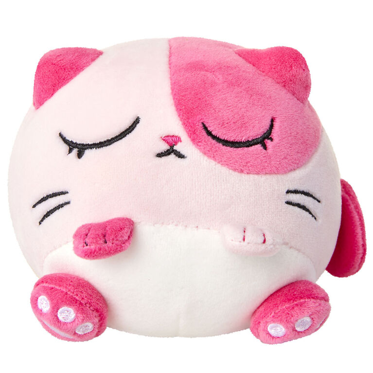 Kitten Catfe Meowble Scented Plush - Pink Calico