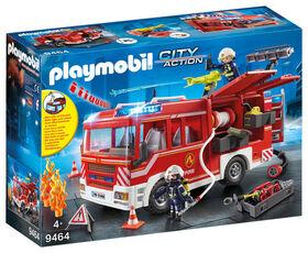 Playmobil - Fourgon d'intervention des  pompiers