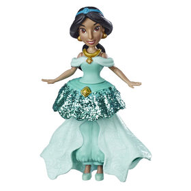 Disney Princess Jasmine Doll with Royal Clips Fashion, One-Clip Skirt