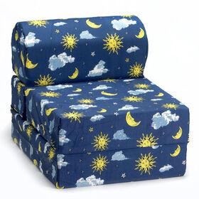 Comfy Kids Flip Chair - Moon & Stars