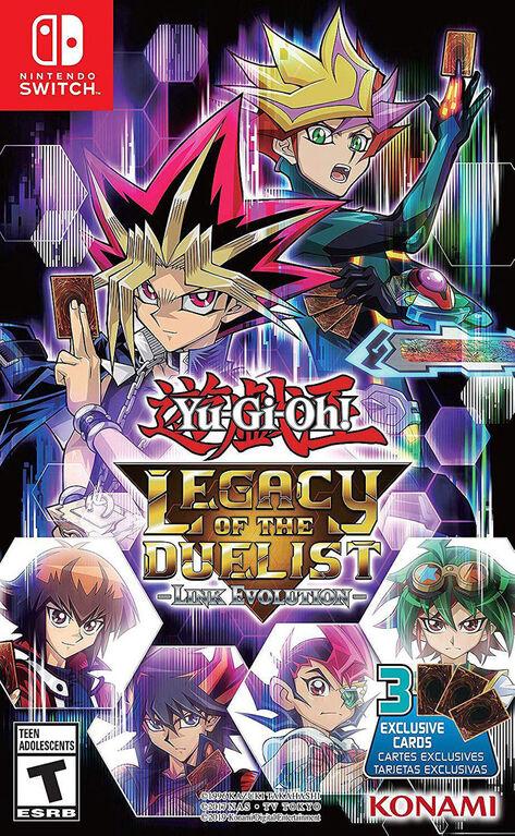 Nintendo Switch Yu-Gi-Oh Legacy Duelist Link Evolution