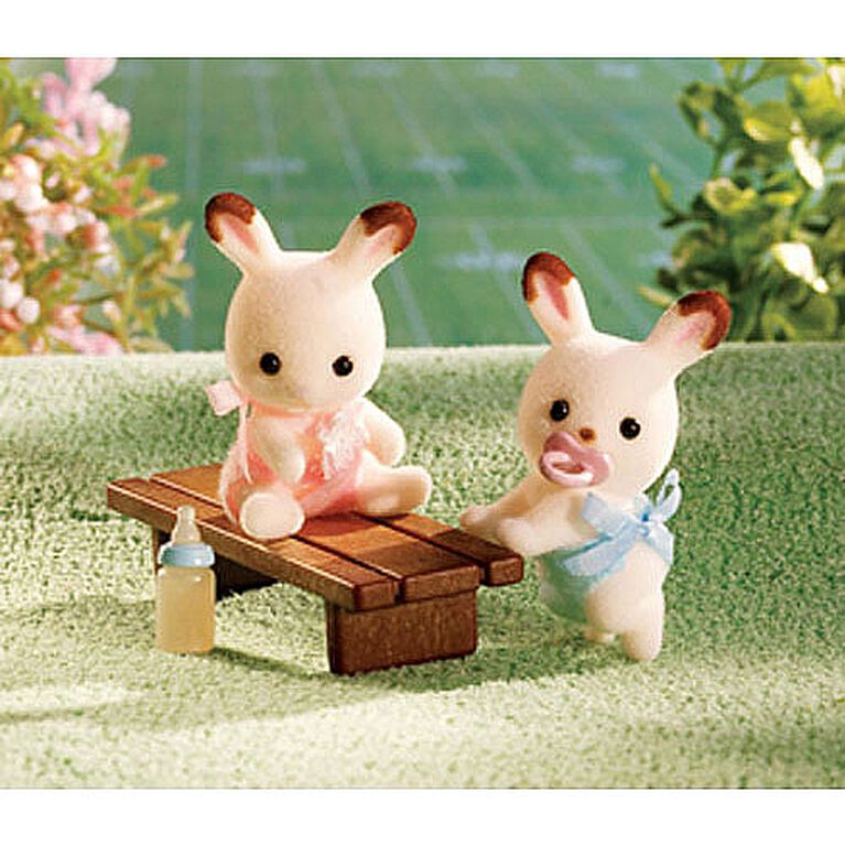 Calico Critters - Les jumeaux lapins Hopscotch