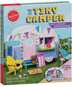 Scholastic - Klutz: Make Your Own Tiny Camper - Édition anglaise